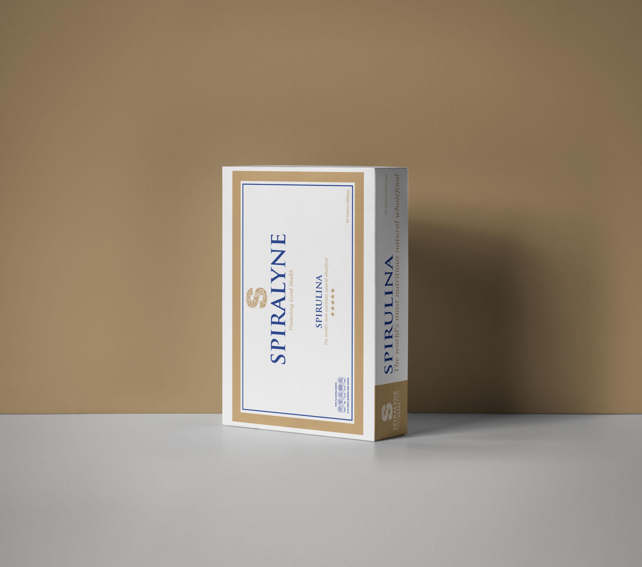 SPIRALYNE spirulina box